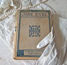 Vintage Jane Eyre Hardcover Book Rare Edition by cynthiasattic, $45.00