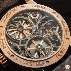 Armin Strom One Week Skeleton - Baselworld 2014 Novelties Hands-On ... watch-anish.com