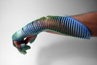 Emoto Glove - 3D printed high performance motorcycle gloves