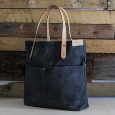 Our go-to bag for the boys (and girls!). The Hearts Bag from Aegis Handcraft. Denim and leather. Two things we love to see the guys rock.