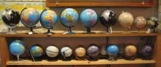 GLOBE~Collection of  globes