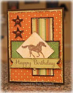 Cards, Western on Pinterest