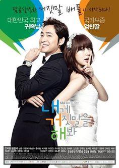 ❤Lie To Me❤  Kang Ji-Hwan as Hyun Ki-hoon  Yoon Eun-hye as Gong Ah-jung  http://www.popcornfor2.com/