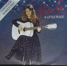 """Nicole - """"A Little Peace"""", english version of """"Ein bisschen Frieden"""", the winning song of the Eurovision Song Contest 1982 from Germany"""