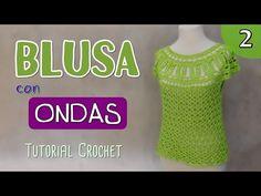 Paso a paso para tejer una blusa (2/2) - YouTube