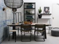 Kast New York by VM-Design Zwart ijzeren industriele kasten