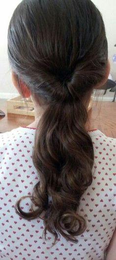 Little girl hairstyles - twist pony