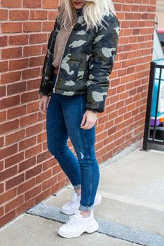 new concept a8711 01f46 90s Sneakers and a Camo Jacket. 90s SneakersFashion ...