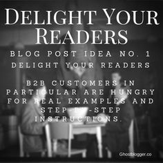 New blog post ideas to delight your readers in 2015.