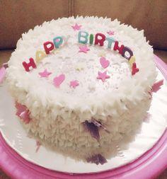 White lovely cake