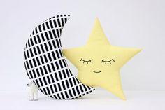 Juego de luna y estrellas almohadas almohadas por ProstoConcept