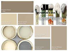 These sandy tones between grey and beige