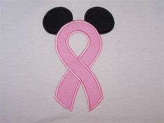 Breast Cancer Awareness Disney Style  Think Pink :)