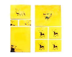 Avareza. Serigrafia s/ metal.150x150cm. Exposição S7te. Galeria Homero Massena. 2000.