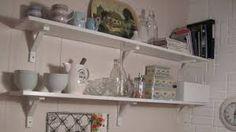 Image result for kjøkkenhylle