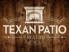 Logo Design for the Texan Patio Bar & Grill at Bauer Ranch in Winnie, Texas