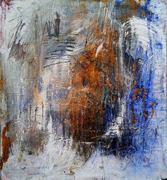 Blusto, 2006, ©Wolfgang Kahle, 90 x 100 cm, mixed media on canvas