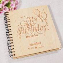 Birthday Memories Photo Album Celebrate that Special Birthday and Keep all those cherished memories in this amazing Wood Photo Album. This Album is a great keepsake that you can look back th Birthday Gag Gifts, 30th Birthday Parties, 80th Birthday, Birthday Ideas, Birthday Cakes, Husband 30th Birthday, 30th Party, Grandma Birthday, Birthday Board