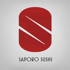 Chopsticks have never looked so beautiful. Designer unknown. #logo #design #logtype