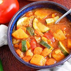 Hearty Vegetable Soup- this has some of the best homemade vegetable broth you will ever have! You need to try it.