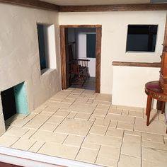 Cardboard Dollhouse, Diy Dollhouse, Dollhouse Miniatures, Doll House Flooring, Old Cottage, Slate Roof, Stone Texture, Brick And Stone, Miniature Houses