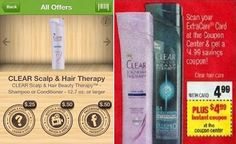 FREE Clear Shampoo at CVS! Plus, $1.25 Moneymaker! - 1FrugalMom