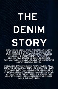 The DENIM Story