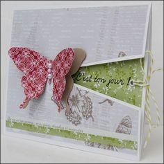 Bonjour à toutes !! Aujourd'hui, je vous propose un tuto pour réaliser une carte-étui, parfait pour souhaiter les anniversaires, les naissances par exemple. Matériel nécessaire : -votre matér…