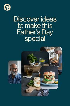 Father's Day may look different this year, but you can still make dads day. Discover recipe ideas, DIY projects you can do together (or on a zoom call) and quick gift ideas.