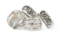 Penchant Design has an impressive portfolio of Bespoke Designs. Daisy Ring, Bespoke Jewellery, Bespoke Design, Jewelry Shop, Rose Gold, Rings, Silver, Handmade, Custom Design