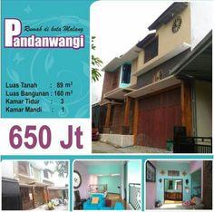 Rumah di Pandanwangi kota Malang