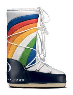 Moon Boot Rainbow -- Bob'sSportsChalet.com Online Store $150