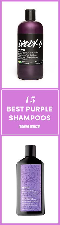15 Best Purple Shampoos - Top Purple Shampoo for Blonde Hair