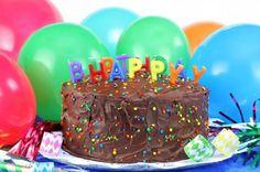Cute, easy birthday cake