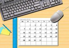 2018 calendar/planner 12 months Have week numbers