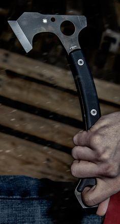 Spyderco H01 Szabo Hawk Tactical Survival Hand Axe