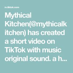 Mythical Kitchen(@mythicalkitchen) has created a short video on TikTok with music original sound. a healthy breakfast for children. Mythical kitchen is for the kids #fyp #foryou