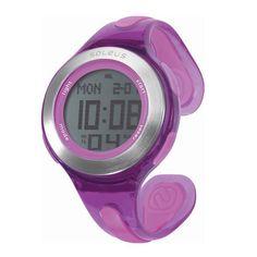 You run like a girl. Keep it up. Soleus Swift Watch. $55 #Soleus #Fitness #Watch #Purple