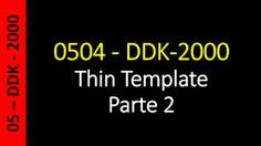 Totvs - Datasul - Treinamento Online (Gratuito): Datasul - 0504 - DDK-2000 - Thin Template - Parte ...