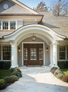 Classic Front Entry, Door, Sidelights
