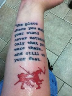 The Stand Stephen King Tattoo On My Right Forearm Done By Jason Helmer At Behind Lines In Grand Haven MI Rate Of Pictures Tattoos Submit Your Own