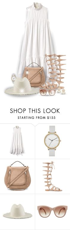 """Gladiators! - Contest!"" by asia-12 ❤ liked on Polyvore featuring 3.1 Phillip Lim, Skagen, Rebecca Minkoff, Schutz, Federica Moretti and Humble Chic"