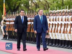 The visiting New Zealand Prime Minister John Key on Monday expressed optimism about China's economic transition.