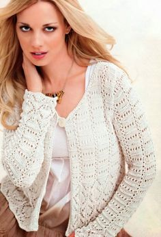 Mens Knit Sweater Pattern, Sweater Knitting Patterns, Crochet Rug Patterns, Crochet Clothes, Knit Crochet, Tunic Tops, Lace, Women, Cardigans