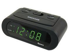 Advance Time Technology LED 6-Inch Alarm Clock, Green by Advance Time Technology, http://www.amazon.com/dp/B000ARW4NY/ref=cm_sw_r_pi_dp_U2MLrb0J3FGT0