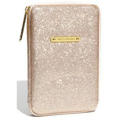 "Juicy Couture Gold Glitter iPad Case ""Ed To The Stars""  ~ One Available !!!"