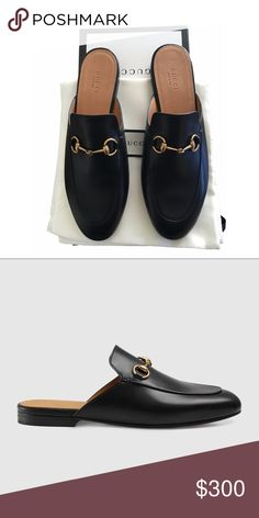 Gucci Princetown Leather Loafer Mule Beautiful never worn Gucci Loafers!  Gucci Shoes Mules   Clogs a6e7c5eb72b4