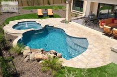 430 Small Inground Pool Spa Ideas Small Inground Pool Backyard Pool Inground Pools