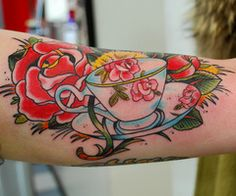 Tea Cup... I used to play with my grandmas ALL the time, good gram tattoo idea!!
