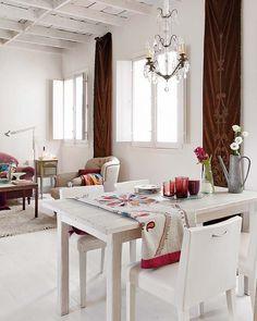 Un apartamento luminoso con decoración ecléctica / A bright apartment with eclectic decor